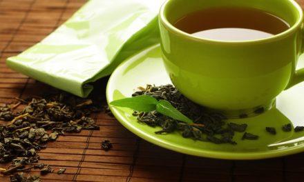 Rassodarsi con il thè verde
